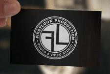 Логотип фото-видео студии «Firstlook»