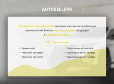 """SEO-продвижение сайта """"Autosellers"""""""