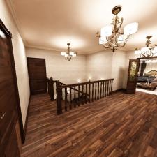 Дизайн интерьера дома в стиле классика