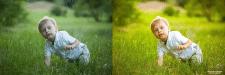 Дитина у парку