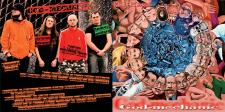 CD. обложка. рок-группа