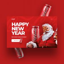 Баннер CocaCola