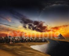 """Иллюстрация для сайта """"Египет"""""""