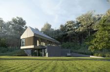 Архитектурная визуализация загородного дома