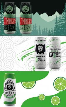 Упаковка крафтовое пиво Lemberg Drinks