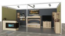 Проектирование в 3D стенда для выставки