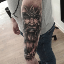 Тату викинг tattoo Viking