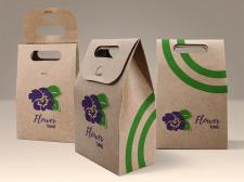 Упаковка цветы