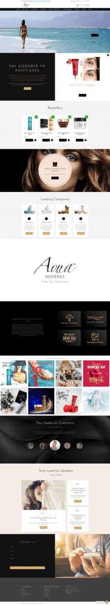 Интернет-магазин Aqua Mineral