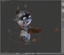 Оснастка персонажа, подготовка к анимации