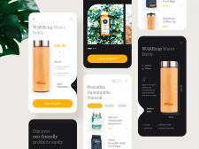 Mobile application - Eco-Friendly Retail Store