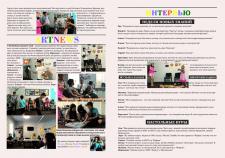 Верстка газеты для детского летнего лагеря