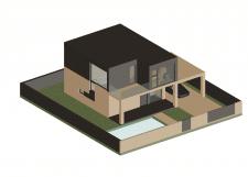 Проект  сучасного будинку.Дерево.