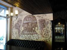 Роспись стен. 1