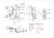 Котедж тепловой насос с гидромодулем 32кВт