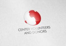 Логотип для центра доноров и волонтеров