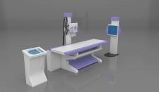 X-RAY machine 3D model - Рентгеновский аппарат