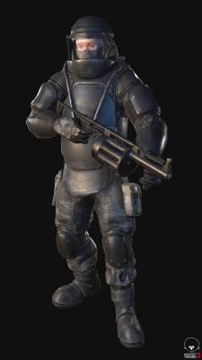 Стрелок (наёмник в тяжёлом бронекостюме)