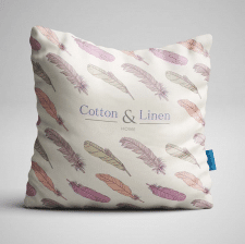 Разработка логотипа и дизайн подушки