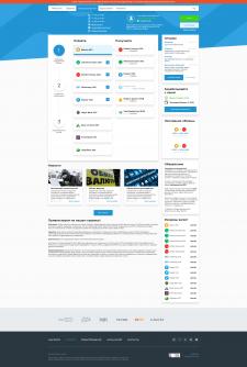 Дизайн сайта обменника валют