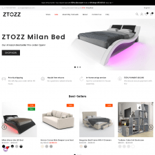 Shopify интернет-магазин Ztozz