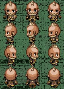 Pixel-Art персонаж для Infected (Smugler)