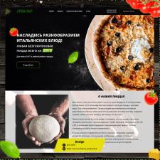 Два экрана для доставки безглютеновой пиццы