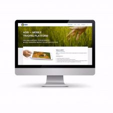 Адаптивний сайт аграрної компанії на PHP-Laravel