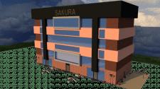 Проект 6ти этажного офиса.