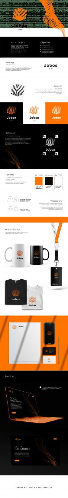 Нейминг и лого для веб студии