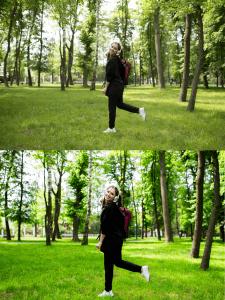 Обработка фото. Цветокорекция, Ретушь
