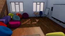 Дизайн тренингового зала психологического центра
