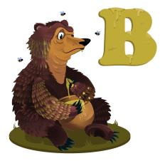 Літера для дитячої азбуки