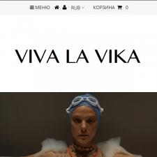 Интернет магазин Shopify vivalavika.com