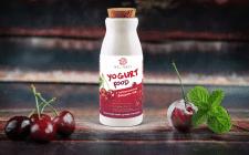 Разработка дизайна этикетки для йогурта