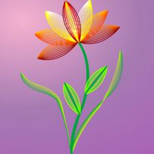 Квітка (Illustrator).