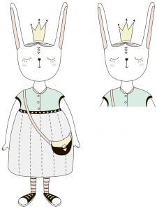 Иллюстрации для детского журнала Big Baby Boom