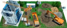 3D изображение: организация WI-FI зоны на стройке