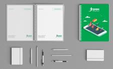 Дизайн блокнота для  СММ компании