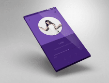UI design of easely music app