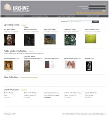 Urchive Online Art Gallery