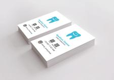 Дизайн визитки. Стоматолог