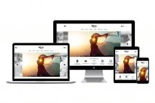 """Корпоративный сайт для фотостудии """"Pandaphoto"""""""