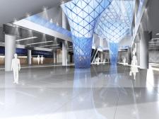 Дизайн интерьера выставочного зала