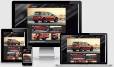 Сайт-визитка - тюнинг Land Rover Freelander 2