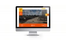 Landing page будівельної компанії