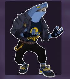 Человек-акула