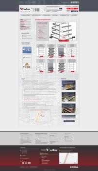 Дизайн главной страницы. Интернет-магазин Wiko