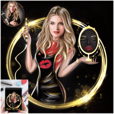 Бьюти лого/аватар Insta/шарж/портрет по фото