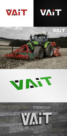 Логотип для магазина запчастей к тракторам
